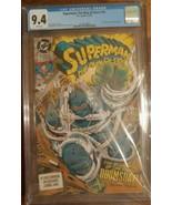Superman The Man of Steel #18 CGC 9.4 DC Comics NOT CBCS/PGX 12/92 - $75.00