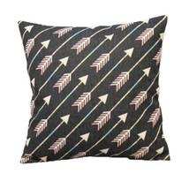 Home Bed Decor Cotton Linen Square Decorative T... - $4.00