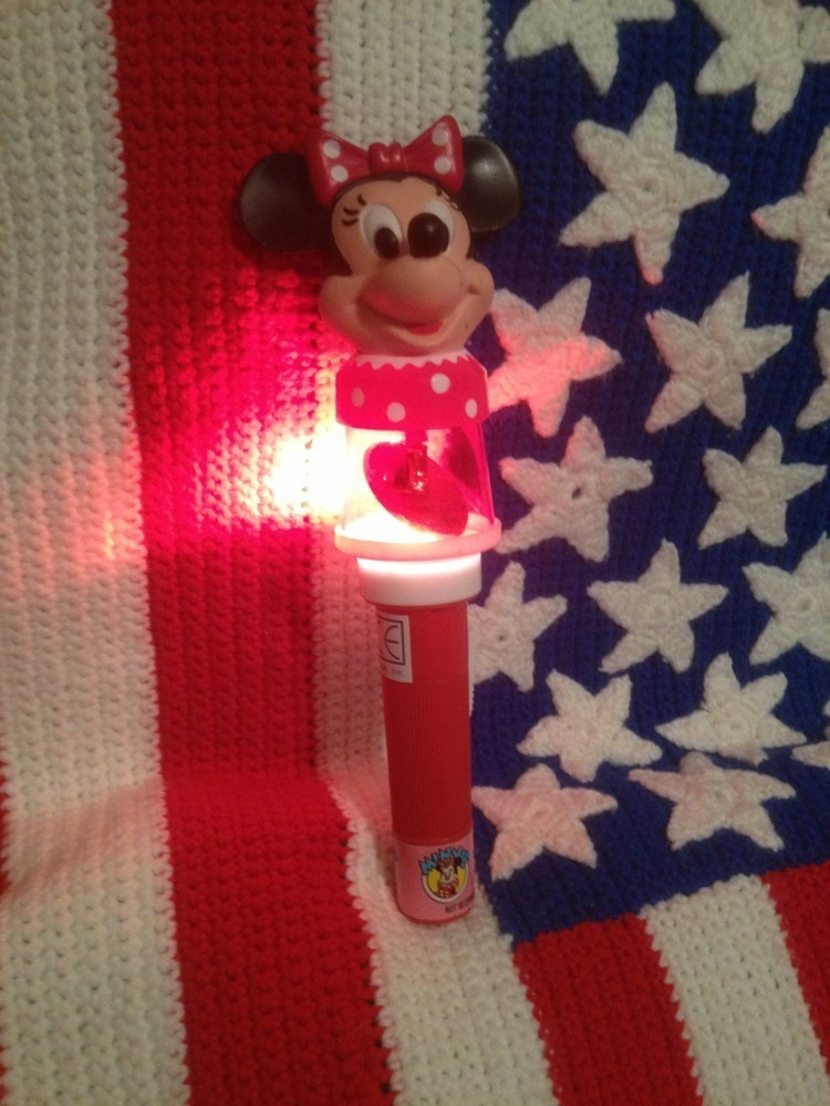 Minnie Mouse Flashlight Walt Disney World On Ice