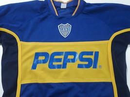Fantasy vintage soccer jersey Club Boca jrs   Argentina  2001  (Canada) - $21.41