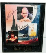 Star Trek Robert Picardo Grace Lee Whitney Chase Masterson Autograph Pho... - $169.30