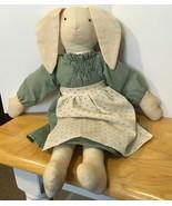 Muslin Soft Body Rabbit Doll - $7.69
