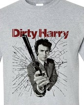 Dirty Harry T-Shirt Clint Eastwood vintage retro movie graphic tee 70's 80's image 2