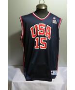 Team USA Basketball Jersey - # 15 Shareef Abdur-Rahim - Size 48 (Men's XL) - $199.00