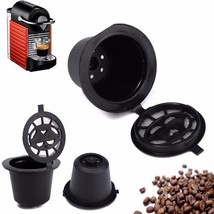 Home Kitchen Refillable Coffee Capsule Cup Reusable Filter For Espresso ... - $4.99