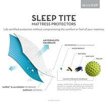 Sleep Tite by Malouf Hypoallergenic 100 Waterproof Mattress Protector 15... - $95.83