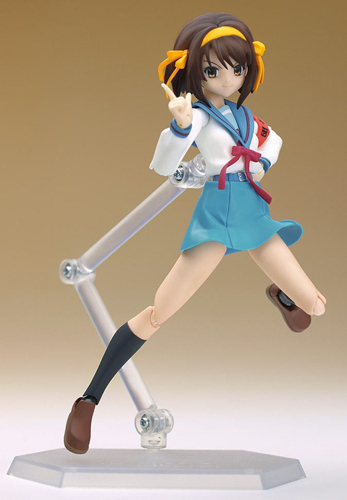 Haruhi: Haruhi Suzumiya Figma No. 002 School Uniform Ver Action Figure Brand NEW