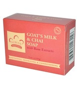 Nubian Heritage Goat's Milk & Chai Soap with Ro... - $8.85