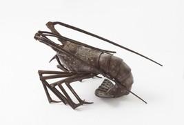 [Rare] JIZAI OKIMONO Iron Statue - ISE EBI : Daimyo Figure - Spring Robster - $1,473.85