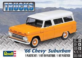 Revell Trucks '66 Chevy Suburban Plastic Model Kit New In Box - $26.04