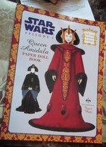 Collectible Star Wars Episode 1~Queen Amidala Paper Dolls  - $9.49