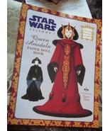 Collectible Star Wars Episode 1~Queen Amidala Paper Dolls  - $9.49