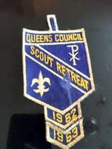 VTG BSA Queens Council Scout Retreat 1962-63 Dreidel Judaica Camping Americana - $25.73