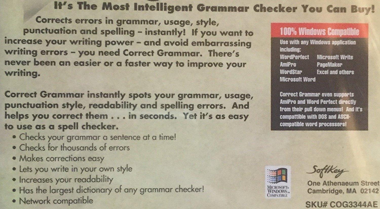 Correct Grammar [CD-ROM ~ Brand New]