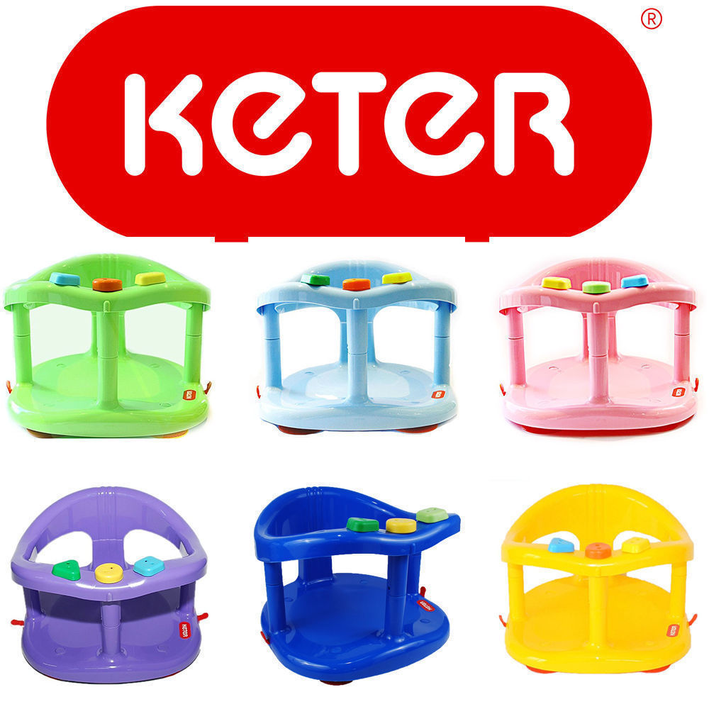 baby bath tub ring seat new keter infant anti slip chair safety bath tub se. Black Bedroom Furniture Sets. Home Design Ideas