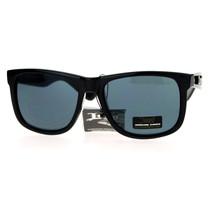 Locs Hardcore Shades Classic Black Square Sunglasses Old School Hip Hop Fashion - $9.85