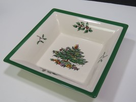 "Spode Christmas Tree Square Dish 6"" - $14.85"