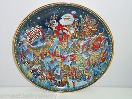 Pepsi Cola Collector Plate Christmas Franklin Mint Vntage Retired  - $59.95