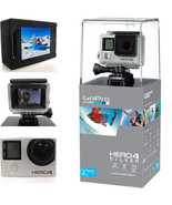 GoPro HERO4 Digital Video Recorder 1080P Camera 12MP Wide View Silver Ed... - $8.949,65 MXN