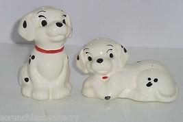 Disney 101 Dalmatians Puppies Salt Pepper Shakers Lucky Dog Treasure Craft  - $49.95
