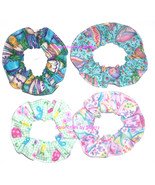 Easter Scrunchie M&M Eggs Chicks Hair Scrunchies by Sherry Ties Ponytail... - $6.99+