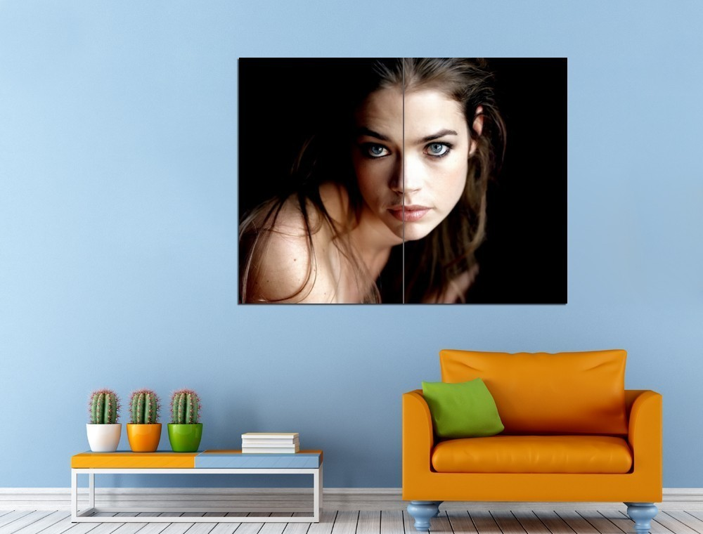 Actress married with children denise richards 47x35 huge for Denise richards home decor