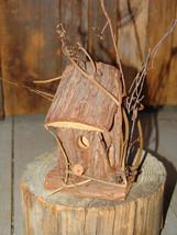 GENUINE TREE BARK & VINE WRAPPED BIRD HOUSE (Granny's Bargain Barn) - $9.75