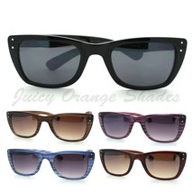 Womens Designer Sunglasses Chic Modern Rectangular Cateye Frame UV 400 - $7.95