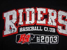 Black New W/O Tags Mlb Frisco Roughriders Texas Baseball Distressed T Shirt Sz S - $18.01