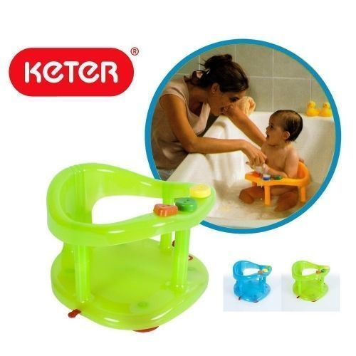 baby bath tub ring seat new keter infant anti slip chair safety bath tub seats rings. Black Bedroom Furniture Sets. Home Design Ideas
