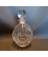 Vintage Royal Crystal Rock Crystal Cut Perfume Bottle with Dropper - $20.00