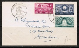 SOUTH AFRICA Scott #112-4 on 1949 COVER w/VOORTREKKER MEMORIAL CANCEL  (... - $11.83