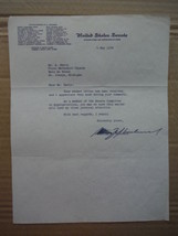Senator William F. Knowland autographed letter (1954) - $41.25