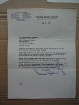 Senator Homer E. Capehart autographed letter (1954) - $50.50