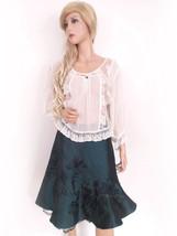 Karen Millen Größe 36 Rock skirt Strass Dunkel - $46.23