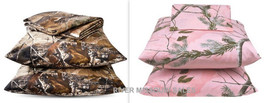 "Mossy Oak Camo Nature Outdoors Inspired Accent Decorative Pillows 18"" x ... - £13.45 GBP"