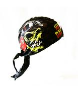 Black Du Rag Skull Design Harley-Davidson Skull... - $24.99