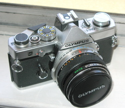 Olympus OM ! 35 mm Film Camera - $249.99