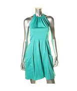Jessica Simpson New Green Pleated Halter Knee-Length A-Line Dress   12 - $24.99