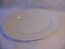 """vintage J G Meakin IRONSTONE serving 13 1/2"""" long oval PLATTER plate - $20.99"""