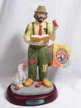 vintage 1984 Emmett Kelly Jr Professional Series Flambro Figurine The TE... - $19.98