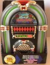 New Christmas Musical Jukebox 1960 Decoration Holiday Dancing In The Str... - $56.09