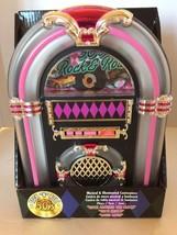 New Christmas Musical Jukebox 1950 Decoration Holiday Tutti Fruitti Rock... - €47,64 EUR