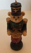 Christmas Tree Ornament Bear Nutcracker Holiday Decor Collectible - $12.19