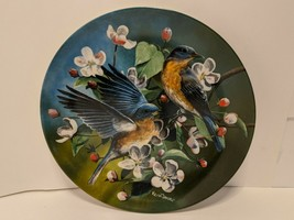 """Vintage 1986 Knowles China """"The Bluebird"""" by Kevin Daniel Collectible Plate - €6,59 EUR"""