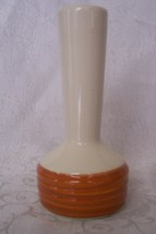 Vintage Haeger Pottery Vase Brown Honey Tan & C... - $18.98