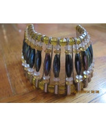 VINTAGE CHEROKEE MADE HEAD DRESS MADE FROM  BEADS AND SAFTY PINS- VERY O... - $20.99