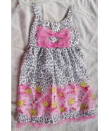 Lemon Kiss Sun Dress size 4/5 Cotton Blend NWT - $11.88