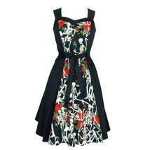 Skulls and Roses Dress Full Circle Dress - $69.95