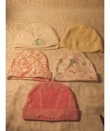 INFANT GIRLS BABY CAPS GERBER-MAX GREY-DISNEY-C... - $2.96